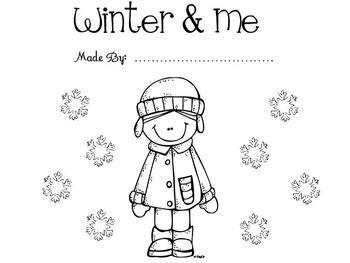 Winter Activity Story Book - Social Studies Pre-K and Kindergarten
