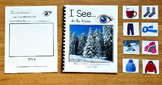 """Winter Adapted Book:  """"I See In the Winter"""" (w/Real Photos)"""