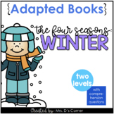 Winter Adapted Book [ Level 1 and Level 2 ] All About Winter Book