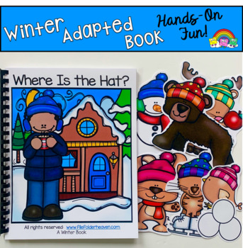 """Winter Adapted Book--""""Where Is The Hat?"""""""
