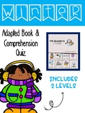 All About Winter Adapted Book & Comprehension Quiz #ateachersdolladays