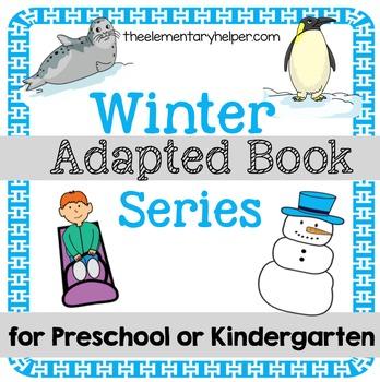 Winter Adapted Book for Preschool and Kindergarten