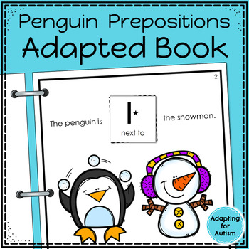 Winter Adapted Books for Special Education and Autism BUNDLE