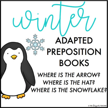 Winter Adapted Interactive Preposition Books (Set of 3)