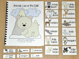 """Winter Adapted Song Book--""""Animals Live in the Cold"""""""