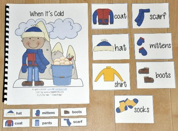"Winter Adapted Song Book--""When It's Cold"""