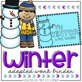 Winter Adapted Work Binder®