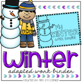 Winter Adapted Work Binder