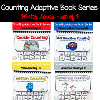 Winter Adaptive Counting Book BUNDLE