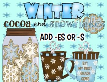Winter Add -s or -es