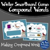 Winter Making Compound Words Game (Smartboard/Promethean Board)