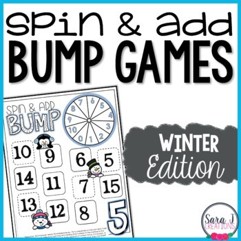 Addition Fact Fluency Games - Winter