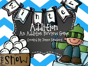 Winter Addition (An Addition Review Game)