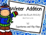 Winter Addition--Basic Fact Addition Task Cards