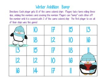 Winter Addition Bump Games to 18