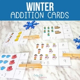 Winter Addition Cards up to 20