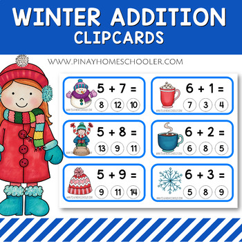 Winter Addition Clipcards