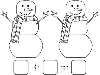 Winter Addition Games