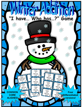 Winter Addition IHWH Game