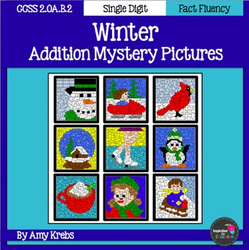 Winter Addition Mystery Pictures
