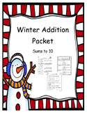 Winter Addition Packet