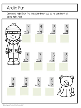 Winter Addition Practice