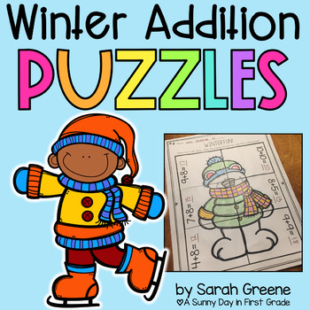 Winter Addition Puzzles!