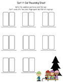 Winter Addition Regrouping Game