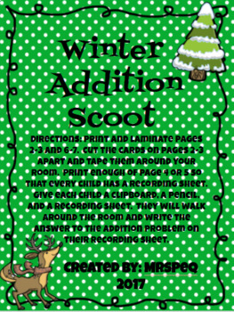 Winter Addition Scoot