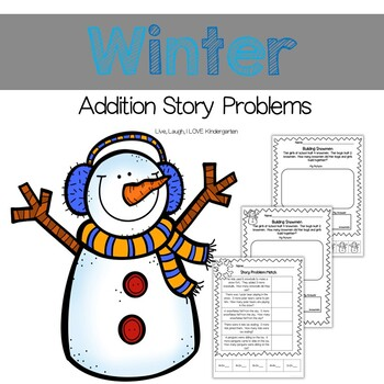 Winter Addition Story Problems