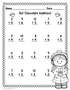Winter - Addition & Subtraction