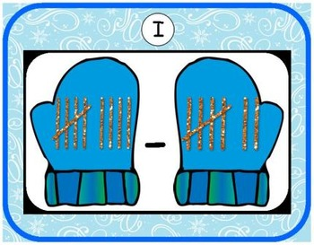 Winter Addition & Subtraction Bundle {Subitizing with Tally Marks}