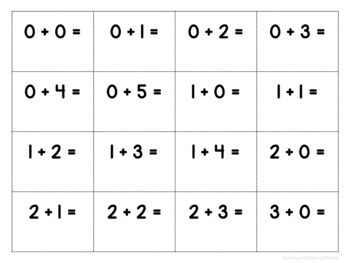 Winter Addition & Subtraction Game