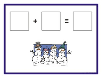 Christmas Addition & Subtraction Math Mats eBook