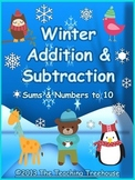 Winter Addition & Subtraction Within 10