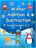 Winter Addition & Subtraction Within 5