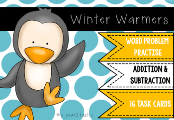Winter Addition & Subtraction Word Problems {year2tastic}