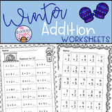 Winter Addition Worksheets