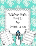 Winter Addition and Subtraction (1 Digit, 2 Digit, & 3 Digit Equations)