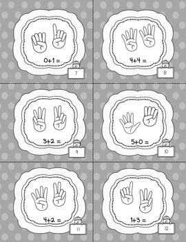 Winter Addition and Subtraction FULL Pack