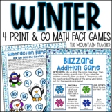 Winter Math Activities   4 Addition and Subtraction Games