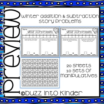 Winter Addition and Subtraction Story Problems