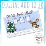 Winter Addition to 20: Independent Practice Problems
