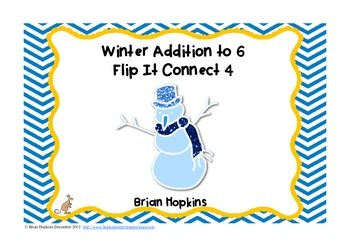 Winter Addition to 6 Flip It Connect 4