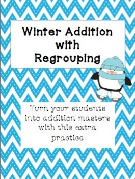 Winter Addition with Regrouping