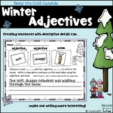 Winter Adjectives Literacy Station Activities