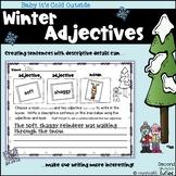 Adjectives, Matching Nouns, Descriptive Sentences & Literacy Station Activities