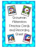 Winter Alliteration Cards