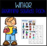 Winter Alphabet Activities