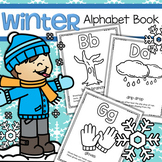 Winter Alphabet Book - Letters, Winter Concepts, Interactive Printables